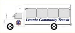 Livonia Community Transit on a Bus