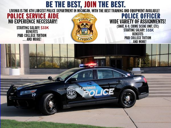 Livonia Police Recruiting Be The Best