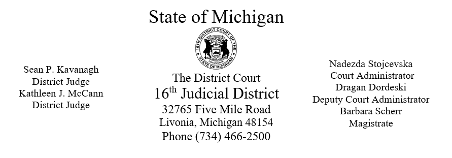 State Court Seal